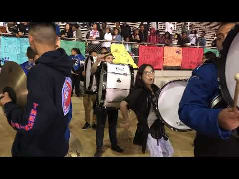 Jordan High School Drumline Battle vs. Cabrillo (Homecoming 10/13/17)