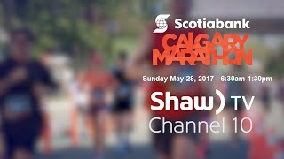 2017 Calgary Marathon On Shaw TV