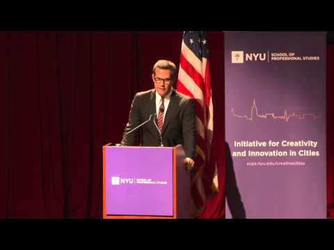 Richard Florida - Onramps of Opportunity: Building a Creative + Inclusive New York