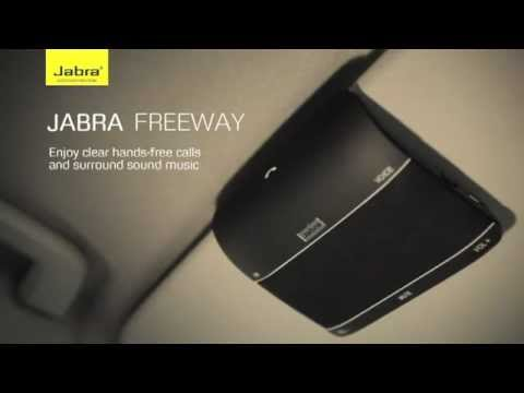Jabra Freeway Bluetooth In Car Speakerphone With Virtual Surround Sound Demo Video