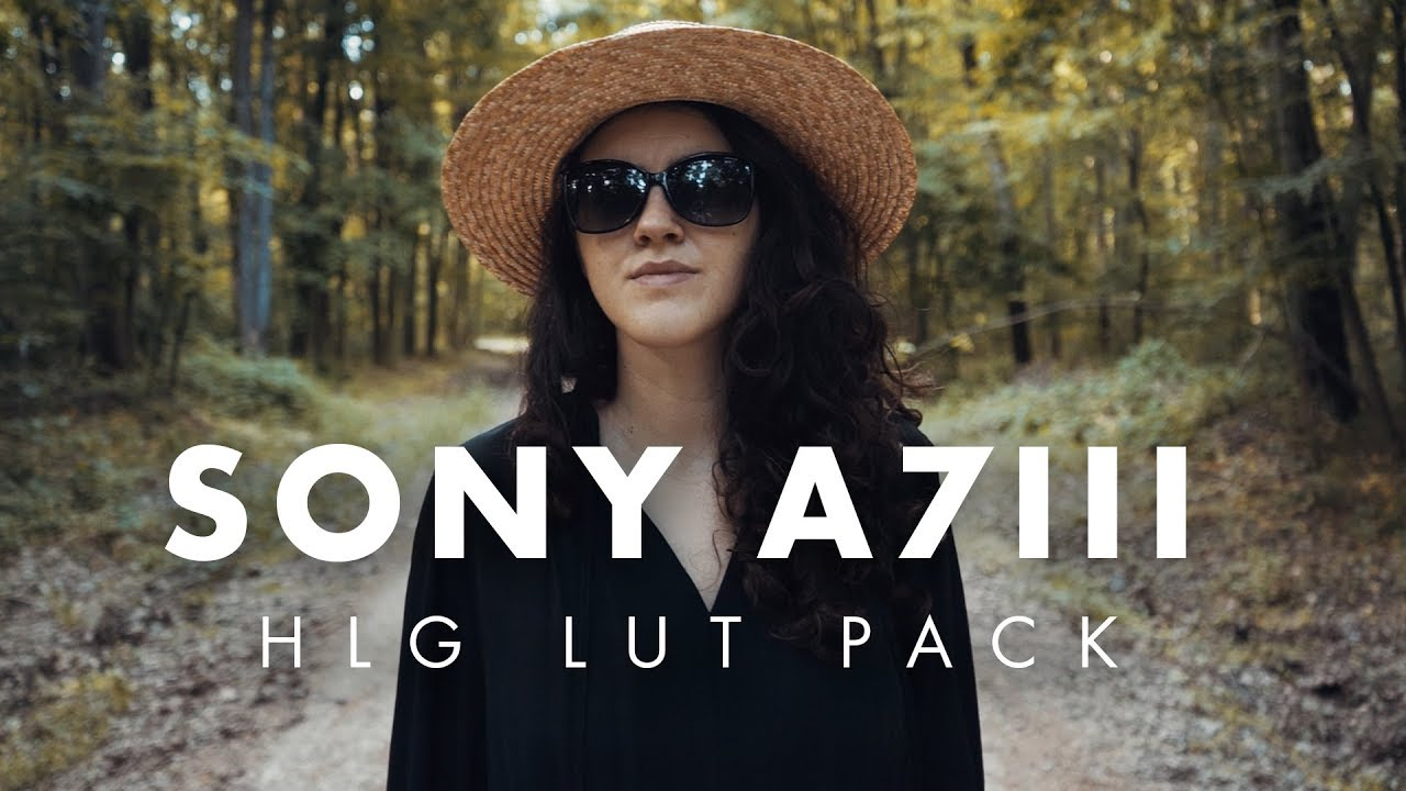 Sony A7III Lut Pack for HLG (Hybrid Log - Gamma ) 120fps