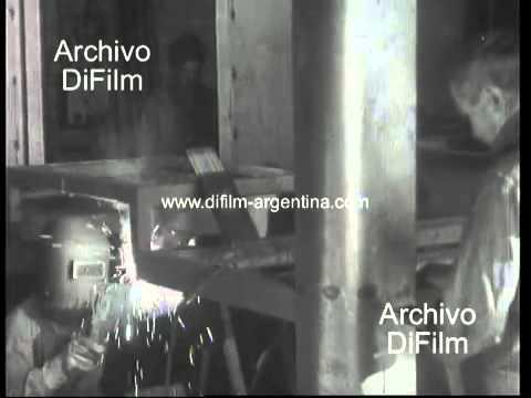 DiFilm - Factories Metallurgy, furniture, dairy 1961