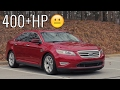 400HP Ford Taurus SHO Car Review! - Acceleration of a Sleeper! mp3 indir