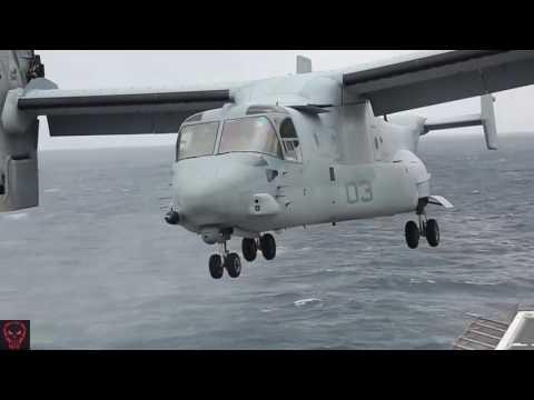 Military | Ship-To-Shore Air OPS • 31st MEU & USS Green Bay (LPD-20)