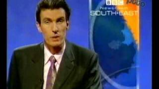 BBC1 | End of BBC News into Newsroom South East | 08/03/1999