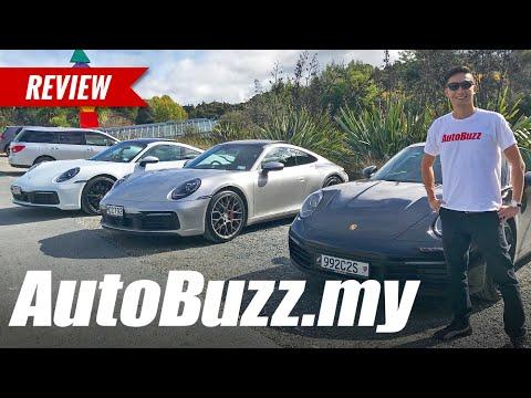 2019 Porsche 911 (992) Carrera S & Carrera 4S First Drive in Auckland, New Zealand - AutoBuzz.my