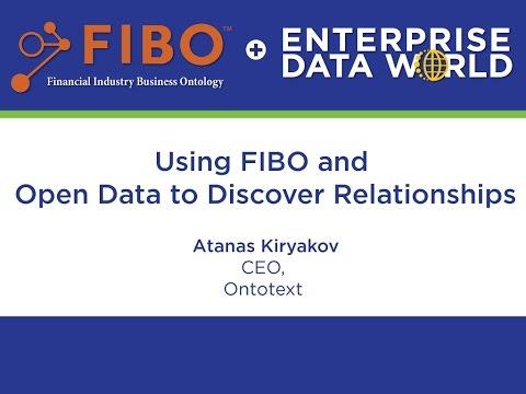Using FIBO and Open Data with Atanas Kiryakov