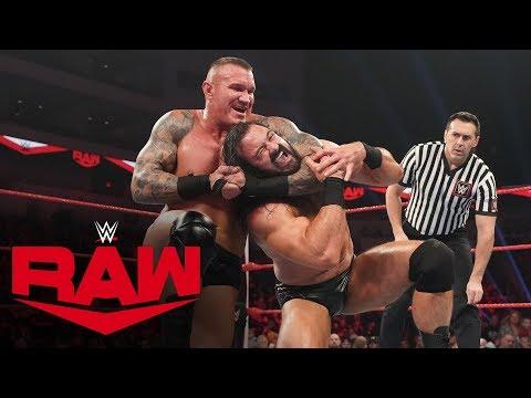 Randy Orton vs. Drew McIntyre: Raw, Jan. 20, 2020