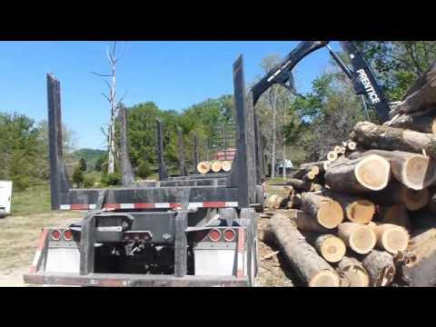 Logging in Kentucky - Arnzen Forestry Services wmv