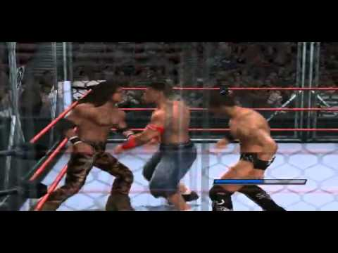 The Miz vs John Cena vs John Morrison - WWE Extreme Rules ...