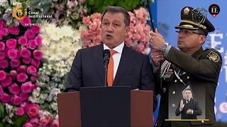 Discurso del presidente del Senado, Ernesto Macías, durante la posesión presidencial | El Espectador