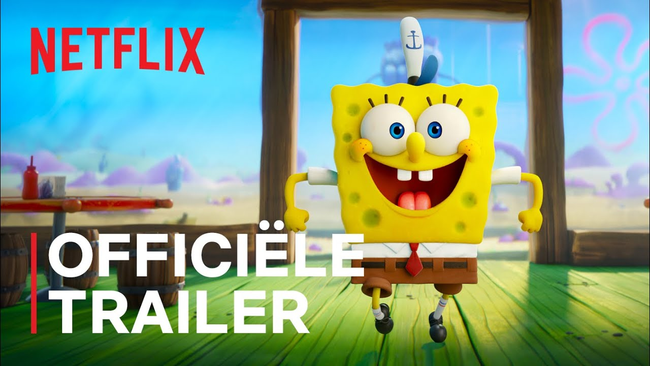 SpongeBob: Schiet te hulp | Officiële trailer | Netflix
