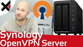 Synology DiskStation OpenVPN Server einrichten Windows, macOS, iOS, Android | iDomiX