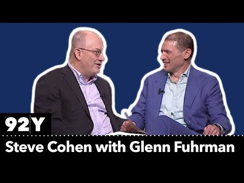 Legendary Investor Steve Cohen With Glenn Fuhrman: On Investing, Philanthropy And Art