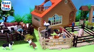 Farm Animals Fun Toys For Kids - Learn Animals Names