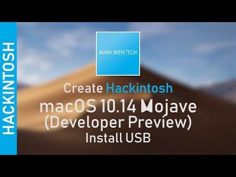 EASY] Create Hackintosh macOS 10 14 Mojave (Public Beta/DP) Install