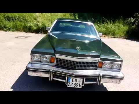 Cadillac Fleetwood Brougham 1979 for sale - YouTube