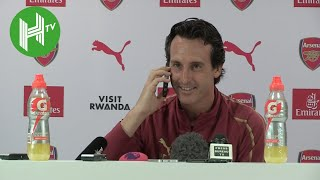 Unai Emery: I've banned fruit juice from the Arsenal training ground - unless it's freshly squeezed!