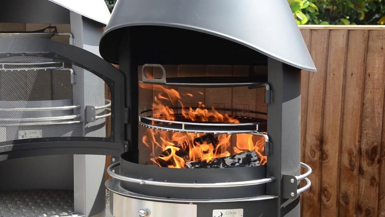 Girse Design Exclusive Duo Outdoor Barbecue