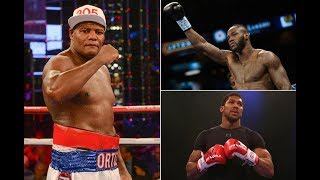 "BREAKING! LUIS ORTIZ ""ANTHONY JOSHUA IS AN EASIER FIGHT THAN DEONTAY WILDER"""