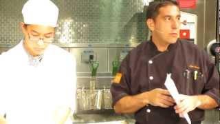 "Ezio Gamba From Cioppino At Miami Culinary Institute For ""italian Culinary Experience"""