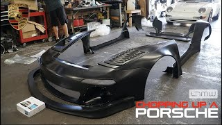 #LTMW CUTTING UP A PORSCHE 996 FOR A OLD/NEW WIDEBODY