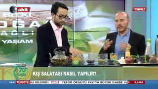Dr. Bekir Yıldızdan kış çayı ve salatası tarifi