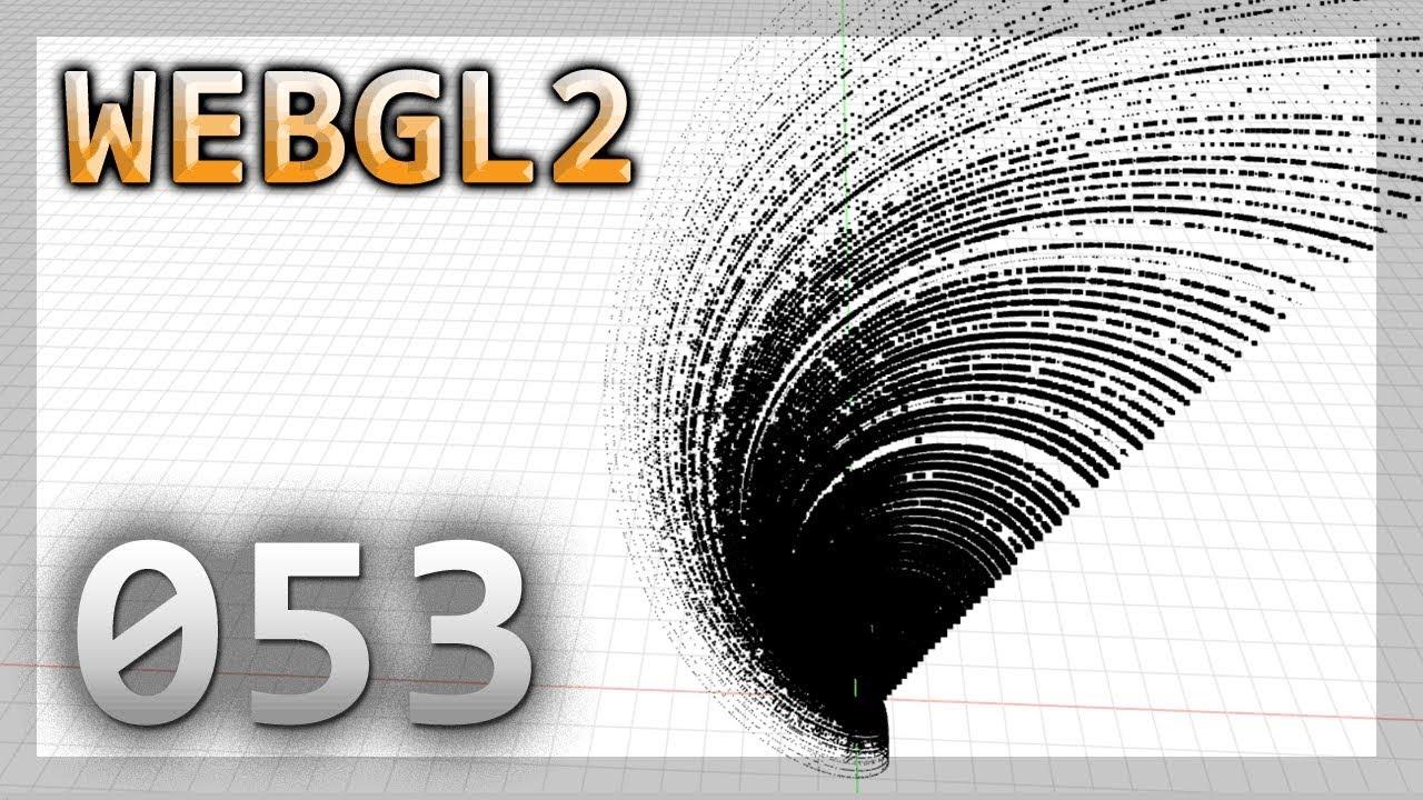 WebGL 2 : 053 : Instanced Particles with TransformFeedback