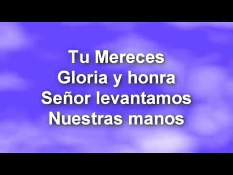 Juan Carlos Alvarado Tu mereces gloria - Letra
