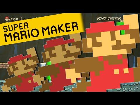 Super Mario Maker   100 MARIO CHALLENGE!!