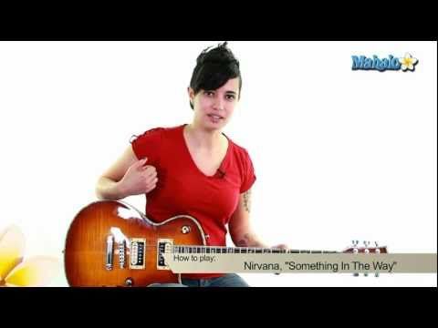 """How to Play """"Something In The Way"""" by Nirvana on Guitar"""