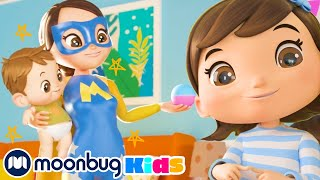 My Mommy is a SUPERHERO! - I Love My Family | Kids Songs | Little Baby Bum Songs | ABCs and 123s