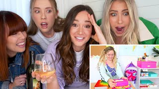 Roommates REACT To My Old Videos!! *CRINGE*