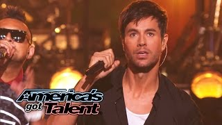 "Enrique Iglesias and Sean Paul Get the Crowd Going With ""Bailando"" - America"