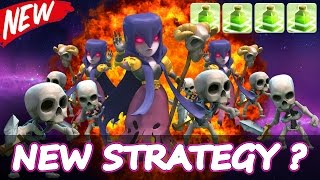 "Clash Of Clans | ""QUATRO JUMP SPELL STRATEGY!"" 