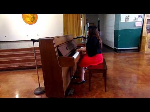WIS 8th Grade Banquet || Talent Show || Franchesca - It's So Hard to Say Goodbye To Yesterday