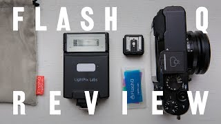Flash Q review: world's smallest flash trigger system.