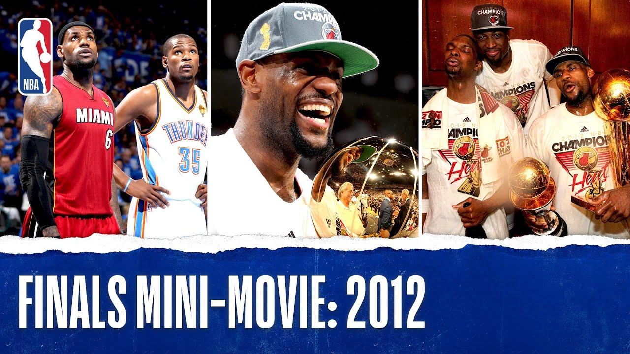 LBJ Captures First NBA Championship | 2012 Finals Mini-Movie