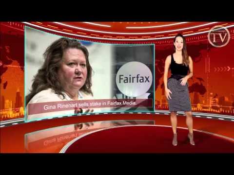 Australian Billionaire Gina Rinehart Jumps off the Sinking Ship