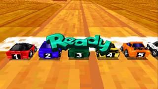 RARE MAME 194 choro-q hyper racing sega stv arcade gameplay