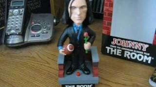 The Room: Johnny (Tommy Wiseau) talking bobblehead signed