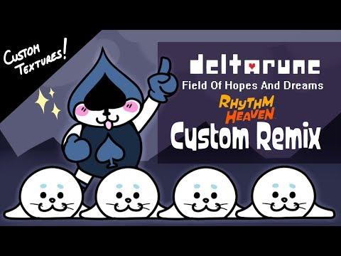 Rhythm Heaven Custom Remix | Field Of Hopes And Dreams - DELTARUNE