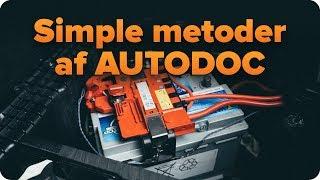 Auto reparation og gør-det-selv tips