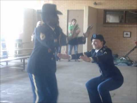Christina Gets Smoked in Her Dress Blues