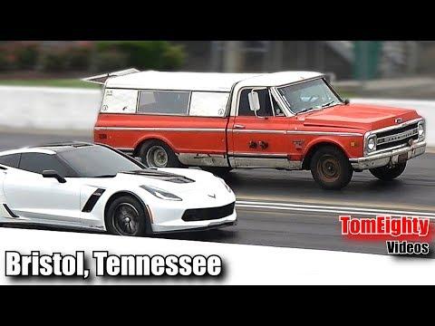 Street Outlaws FarmTruck Drag Races a Supercharged Corvette for $1,000