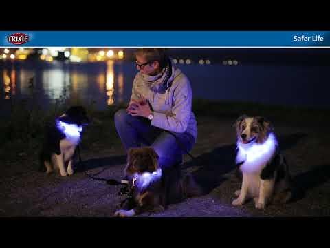 TRIXIE Safer Life - Leuchthalsbänder, Sicherheitsequipment und mehr für Mensch und Hund