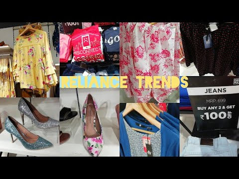Reliance Trends Latest Offers On Western Wear And Footwear ||