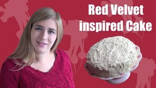 How To Make Red Velvet Cake (using Beetroot And White Chocolate)