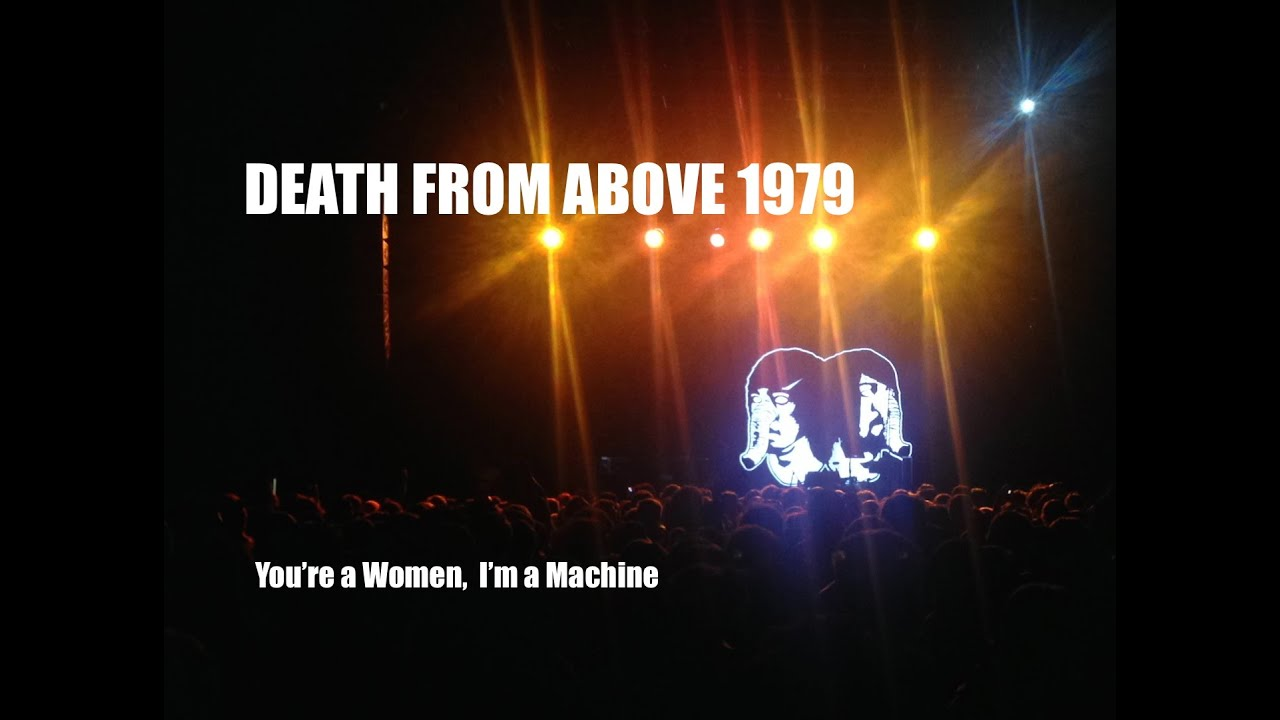 from above 1979 you re a i m a machine