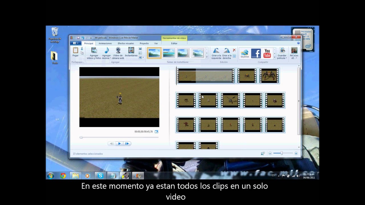 how to cut clips in movie maker